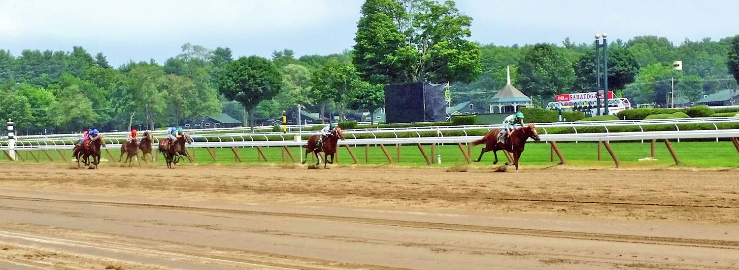 Horsing Racing at Saratoga